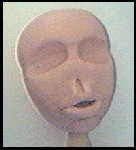 Head with lips attached.
