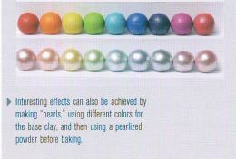 Making Polymer Clay Beads Book